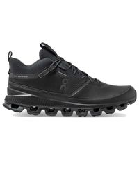 On Cloud Hi Waterproof - Kengät - All Black (ONM289-1004)