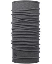 Buff Midweight Merino Wool - Huivit - Light Grey Melange (BU11302293310)