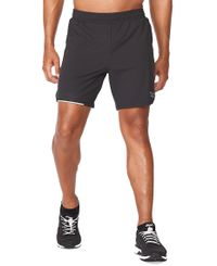 "2XU Aero 7"" - Shortsit - Musta (MR6531b-BL)"