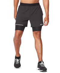 "2XU Aero 2in1 5"" - Shortsit - Musta (MR6535b-BL)"