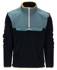 Amundsen Roamer Fleece - Paita - Faded Blue/Navy (MSW58.1.521)