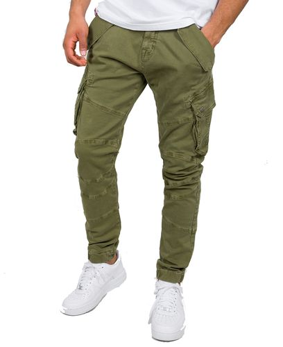 Alpha Industries Combat LW - Housut - Oliivi (126215-11)