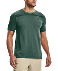 Under Armour Seamless SS - T-paita - Toddy Green (1361131-370)