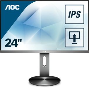 "AOC 27"" LED I2790PQU/ BT 1920x1080 IPS, 4ms, 50m:1, Speakers, Pivot, VGA/ DP/ HDMI (I2790PQU/BT)"