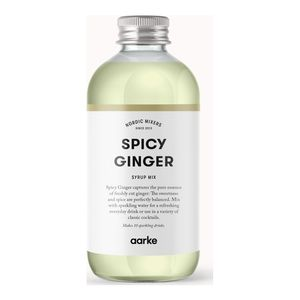 AARKE Spicy Ginger Syrup, 330 ml (AA012-Ginger)