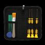 DELTACOIMP Deltaco Tools for Xbox 360-control, 8 Parts - Black