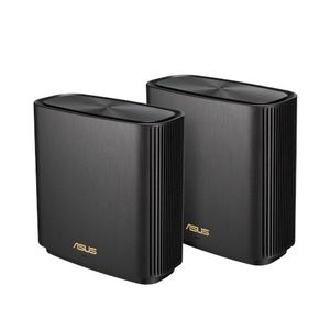 ASUS ZENWIFI AX /XT8/ AX6600 2 PACK WIFI SYSTEM BLACK                IN WRLS (90IG0590-MO3G20)
