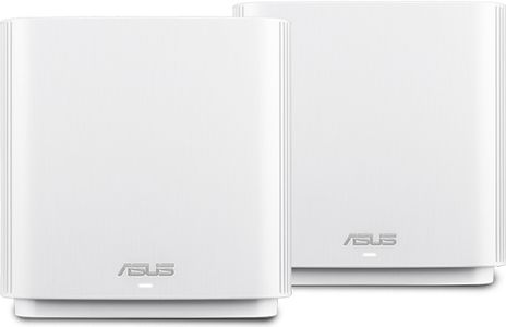 ASUS ZENWIFI AC /CT8/ AC3000 2 PACK WIFI SYSTEM WHITE                IN WRLS (90IG04T0-MO3R40)