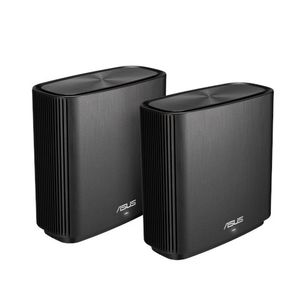 ASUS ZENWIFI AC /CT8/ AC3000 2 PACK WIFI SYSTEM BLACK                IN WRLS (90IG04T0-MO3R60)