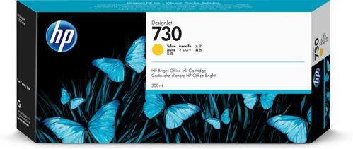 HP 730 300-ML YELLOW INK CARTRIDGE SUPL (P2V70A)