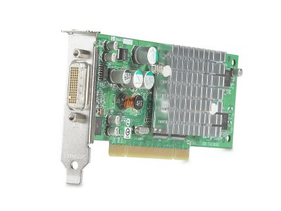 HP NVIDIA-64MB DDR DUAL HEAD PCI GRAPHIC (DY599A              )