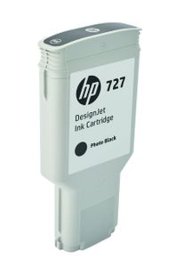 HP INK CARTRIDGE NO 727 GRAY 300ML SUPL (F9J79A)
