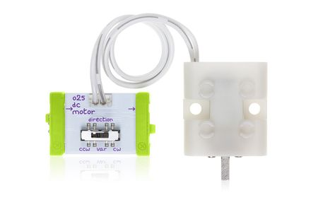 LittleBits DC Motor o25 (Tethered)_ med kabel (650-0142-001A1)