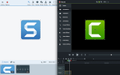 TECHSMITH Camtasia 9 & Snagit 18 Bundle  Commercial, Mac/Win, ESD, 100-199 Users
