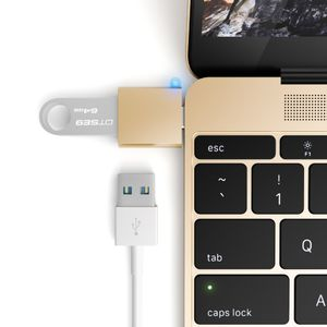 Satechi Satechi USB-C Adapter ? Förvandla din 12-tums Mac USB-C port till en USB 3.0 port! (ST-TCUAS)
