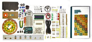 Arduino Arduino UNO Starter Kit, Projects Book, Breadboard,  Components Kit (K000007)