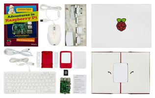 RASPBERRY PI Pi 3 Model B+ Single Board Computer Kit, Complete Kit With Accessories (RPI3BP-INABOX-KIT)