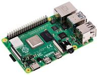 RASPBERRY PI Raspberry Pi 4 Model B, Single Board Computer, BCM2711 SoC, 2GB DDR4 RAM, USB 3.0, PoE Enable (SC15184)