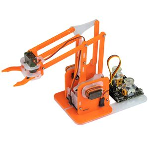 KITRONIK MeArm Robot Arduino Compatible Kit - Orange (4508)