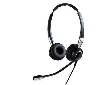 JABRA BIZ 2400 MS Duo USB NEXT GENERATION Type: 82 E-STD Noise-Cancelling USB connector with mute-button and volume control Micropho (2499-823-309)
