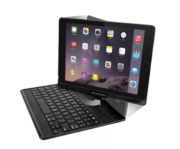 TARGUS Versatype Hard Shell Keyboard Case Nordic iPad 2017, iPad Pro 9,7, Air 1,2 black - TARJOUS (THZ620NO)