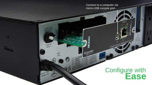 APC UPS Network Management Card with PowerChute Network Shutdown (AP9640)