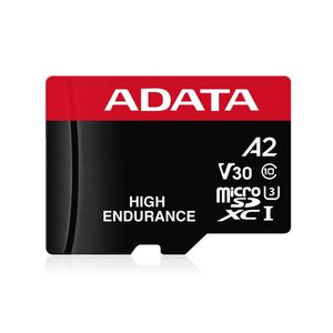 A-DATA 64GB UHS-I U3 V30S(R:100MB/ s/ W:70MB/ s) HIGH MicroSD w/adapter (AUSDX64GUI3V30SHA2-RA1)