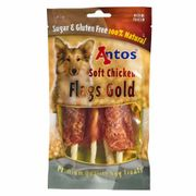 Antos Chicken Soft Flags Gold 100g -Hundesnacks