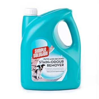 Simple Solution Patio & Decking Stain and Odour Remover - 4L (49-90453-2p)