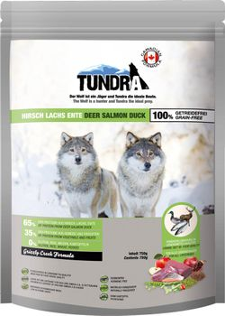 Tundra Grizzly Creek 750g Deer Duck Salmon Hundefor (50-16154)