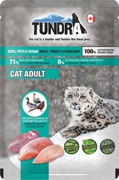 Tundra CatPack Duck, Turkey&Pheasant 85g -Våtfor Katt Pouch (50-774)