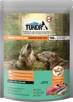 Tundra Reindeer/ Trout/ Beef 750g Hundefor (50-16174)