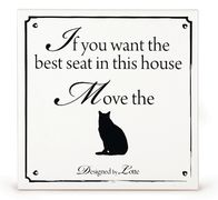 Design by Lotte Ceramic 'If you want the best seat...'
