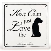 Design by Lotte Ceramic '...just Love the...dog'