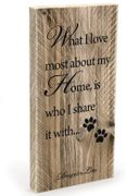 Design by Lotte WoodBoard '..My Home...'