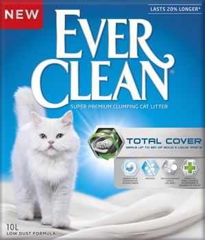 Ever Clean Ever Clean Kattesand Total Cover 10L (11-4317)