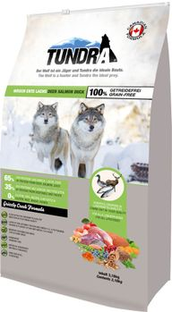 Tundra Grizzly Creek 3,18kg Deer Duck Salmon Hundefor (50-16152)