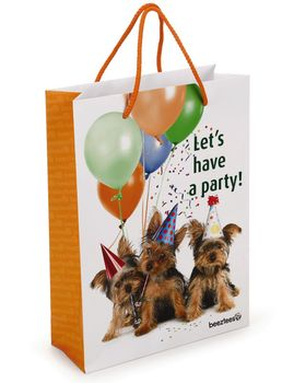 Gavepose Hund 'Let's have a party' (999936)