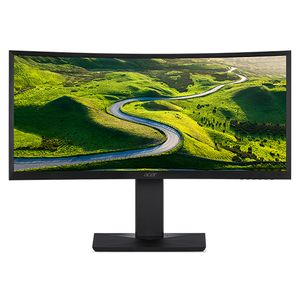 "ACER 38"" Curved skjerm CZ380CQK 3840x1600 IPS, 75hz, 4ms, 1000:1, FreeSync, Speakers, HDMI/DP (UM.TC0EE.001)"