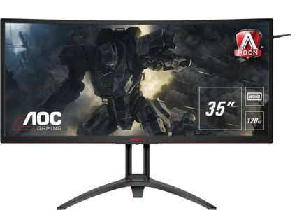 AOC Monitor AOC AGON AG352UCG6 35'' Curved MVA 3440x1440,  HDMI, USB, DP, speakers (AG352UCG6)