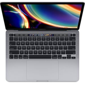 APPLE-CTO MacBook Pro 13 (2020) 256GB Space Gray Intel 8th gen. Quad-Core i7 1.7GHz, 16GB RAM, 256GB SSD, Intel Graphics, Int.Eng (Z0Z1-PMK-MXK32H/A)