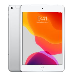 "APPLE iPad Mini 7.9"" Gen 5 (2019) Wi-Fi + Cellular, 256GB, Silver (MUXD2KN/A)"