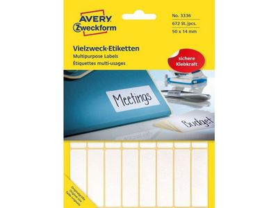 AVERY Labels White   (3336)