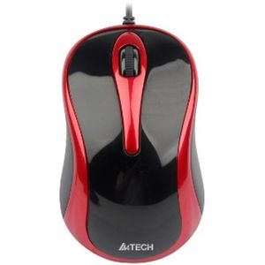 A4TECH Mouse V-TRACK N-350-2 Black/Red USB (A4TMYS41193)