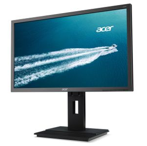 "ACER B246HL - LED-skärm - 24"" - 1920 x 1080 Full HD (1080p) - TN - 250 cd/m² - 5 ms - DVI, VGA, DisplayPort - högtalare - mörkgrå (UM.FB6EE.C01)"