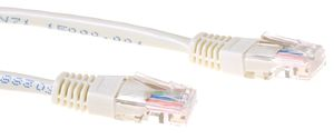 ACT Cat5E UTP Patchkabel,  Beige 3,0 meter (IB 6403)