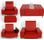 MediaSeat Transform Seat Red -DEMO!-