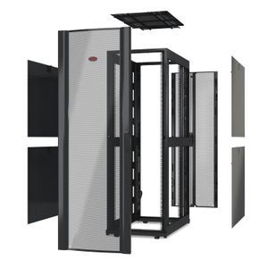 APC NetShelter SX 42U 600mm Wide x 1070mm Deep Enclosure Without Sides Without Doors Black (AR3100X617)