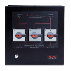 APC Smart-UPS VT Maintenance Bypass Panel 10-20kVA 400V Wallmount (SBPSU10K20HC1M1-WP)