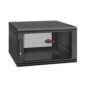 APC NetShelter WX 6U Single Hinged Wall-mount Enclosure,  Mounting Depth 600mm (AR106SH6)